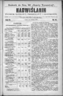 Nadwiślanin : tygodnik handlowy, przemysłowy i ekonomiczny 1875, R. 3 nr 14