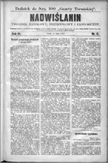 Nadwiślanin : tygodnik handlowy, przemysłowy i ekonomiczny 1875, R. 3 nr 15