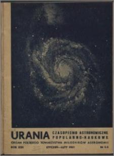 Urania 1951, R. 22 nr 1/2