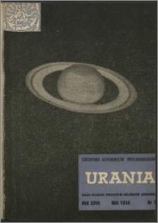 Urania 1956, R. 27 nr 5