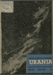 Urania 1956, R. 27 nr 7