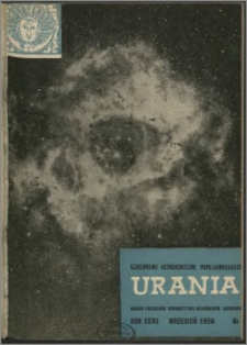 Urania 1956, R. 27 nr 9