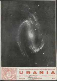 Urania 1959, R. 30 nr 9