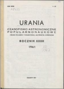 Urania 1961, R. 32 nr 1