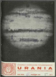 Urania 1961, R. 32 nr 9