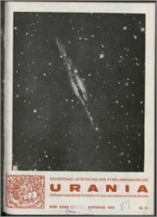 Urania 1961, R. 32 nr 11