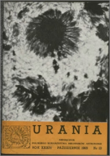 Urania 1963, R. 34 nr 10