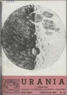 Urania 1964, R. 35 nr 11