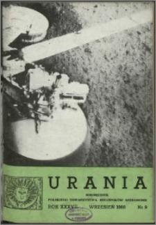 Urania 1966, R. 37 nr 9
