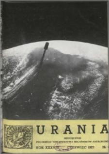 Urania 1967, R. 38 nr 6