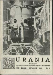 Urania 1968, R. 39 nr 1