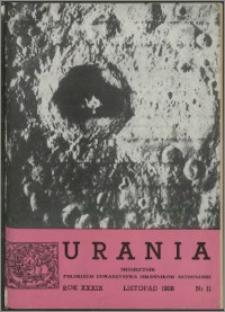 Urania 1968, R. 39 nr 11
