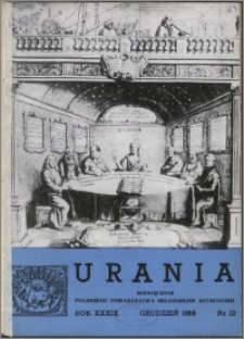 Urania 1968, R. 39 nr 12