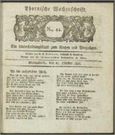 Thornische Wochenschrift 1825, Nro. 44