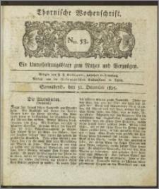 Thornische Wochenschrift 1825, Nro. 53