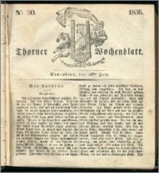 Thorner Wochenblatt 1836, Nro. 30 + Beilage, Thorner wöchentliche Zeitung