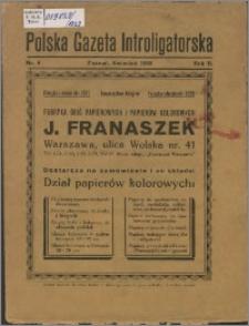 Polska Gazeta Introligatorska 1929, R. 2 nr 4