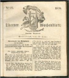 Thorner Wochenblatt 1839, Nro. 22 + Beilage, Thorner wöchentliche Zeitung