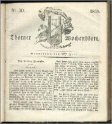 Thorner Wochenblatt 1839, Nro. 30 + Thorner wöchentliche Zeitung