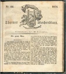 Thorner Wochenblatt 1839, Nro. 44 + Beilage, Thorner wöchentliche Zeitung