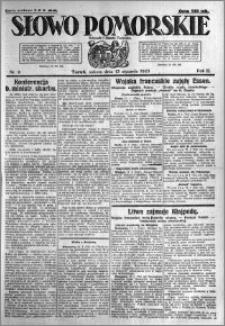 Słowo Pomorskie 1923.01.13 R.3 nr 9