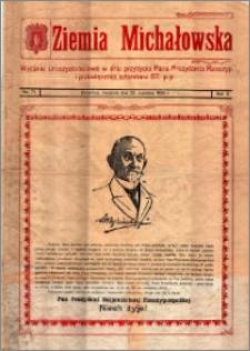 Ziemia Michałowska : Wydanie uroczystościowe w dniu przybycia Pana Prezydenta Rzeczyp. i poświecenia sztandaru 67. p.p., R. 1924, Nr 71