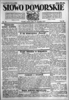 Słowo Pomorskie 1923.01.20 R.3 nr 15