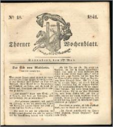 Thorner Wochenblatt 1841, Nro. 18 + Beilage, Thorner wöchentliche Zeitung