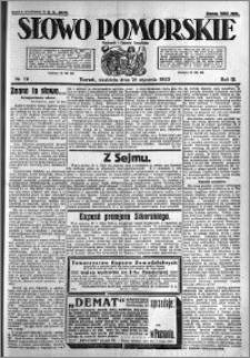 Słowo Pomorskie 1923.01.21 R.3 nr 16