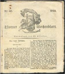 Thorner Wochenblatt 1841, Nro. 40 + Beilage