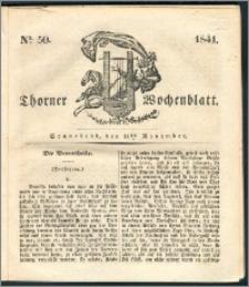 Thorner Wochenblatt 1841, Nro. 50 + Beilage, Zweite Beilage, Thorner wöchentliche Zeitung
