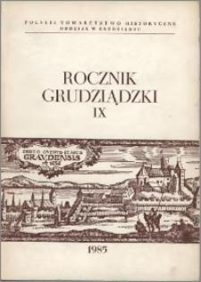 Rocznik Grudziądzki T.9