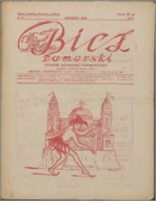 Bicz Pomorski : tygodnik satyryczno-humorystyczny 1928, R. 1 nr 31
