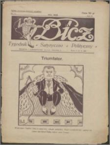 Bicz : tygodnik satyryczno-polityczny 1929, R. 2 nr 21