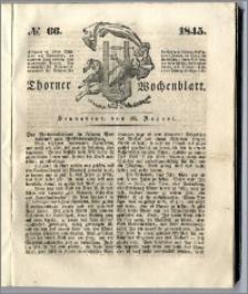 Thorner Wochenblatt 1845, No. 66 + Beilage, Thorner wöchentliche Beitung