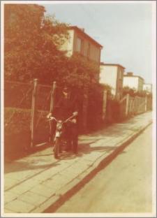 Zawiadowca stacji Kazimierz Wardowski - 1982 r.