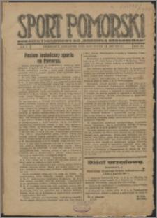 Sport Pomorski 1927, R. 3 nr 1