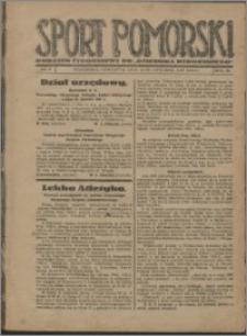 Sport Pomorski 1927, R. 3 nr 2