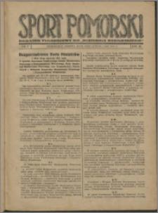 Sport Pomorski 1927, R. 3 nr 5