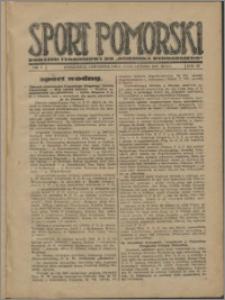 Sport Pomorski 1927, R. 3 nr 7