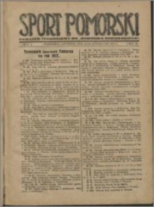 Sport Pomorski 1927, R. 3 nr 8