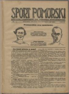 Sport Pomorski 1927, R. 3 nr 9