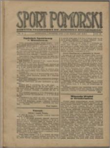 Sport Pomorski 1927, R. 3 nr 11