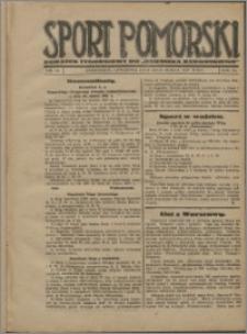 Sport Pomorski 1927, R. 3 nr 12