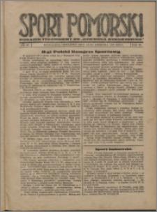 Sport Pomorski 1927, R. 3 nr 15