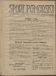 Sport Pomorski 1927, R. 3 nr 18