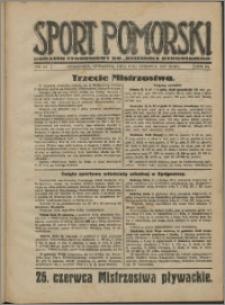 Sport Pomorski 1927, R. 3 nr 23