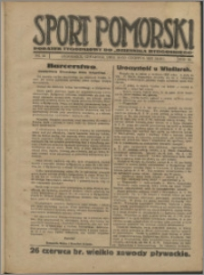 Sport Pomorski 1927, R. 3 nr 24