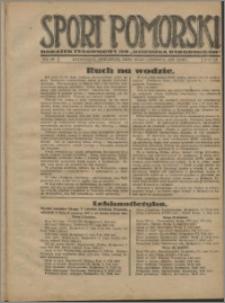 Sport Pomorski 1927, R. 3 nr 26