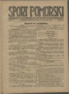 Sport Pomorski 1927, R. 3 nr 27